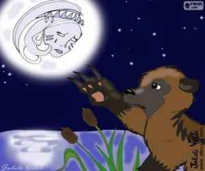 The Moon and the bear puzzle