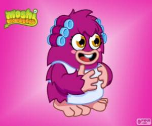 The mother of Furi. Moshi Monsters puzzle