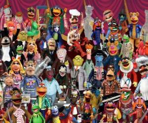 The Muppets characters puzzle