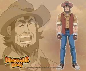 The paleontologist Dr. Spike Taylor, Dr. Kenryu Kodai. Max's father is obsessed with dinosaurs puzzle