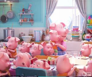 The pig Rosita puzzle