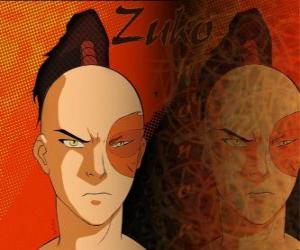 The Prince Zuko is exiled of the Fire Nation and  wants to capture the Avatar Aang to restore his honor puzzle