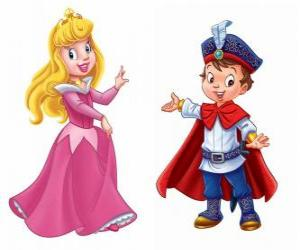 The princess and the prince talking puzzle