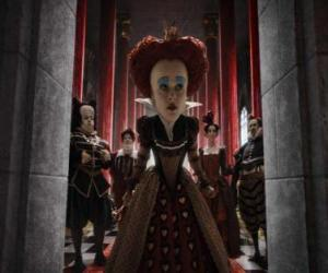 The Red Queen (Helena Bonham Carter) is the tyrannical ruler of the Underworld. puzzle
