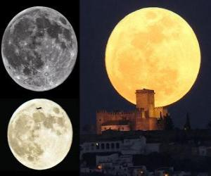 The splendor of the super Moon (March 19, 2011) puzzle