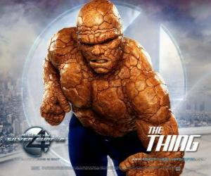 The strongest superhero of the Fantastic Four's is The Thing puzzle