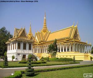 The Throne Hall, Cambodia puzzle