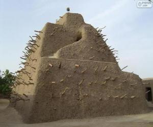 The tomb of Askia in Gao, Mali puzzle