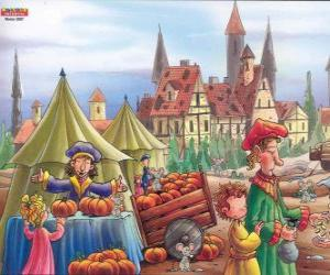 The town of Hamelin is infested with rats, the villagers do not know what to do puzzle