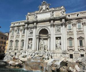 The Trevi Fountain, Rome puzzle