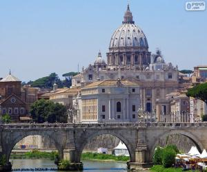 The Vatican, Rome, Italy puzzle