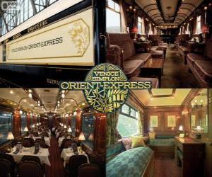 The Venice Simplon Orient - Express puzzle