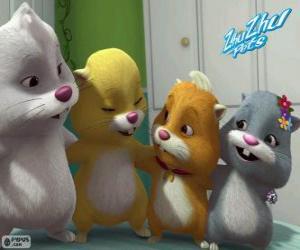 The Zhu Zhu Pets hamsters puzzle