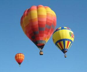 Three balloons puzzle