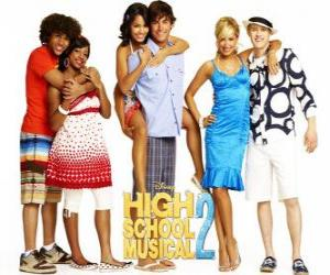 Three couples HSM 2 puzzle