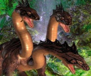 Three-headed dragon puzzle
