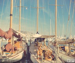 Three sailboats puzzle