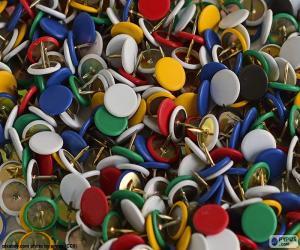Thumb tacks puzzle