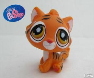Tiger from the Littlest PetShop puzzle