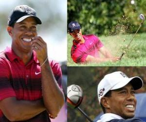 Tiger Woods is an American golfer. puzzle