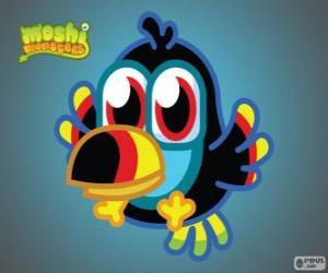 Tiki is a Moshlings, Toucan. Birdies set puzzle