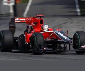 Timo Glock - Virgin - Monza 2010 puzzle