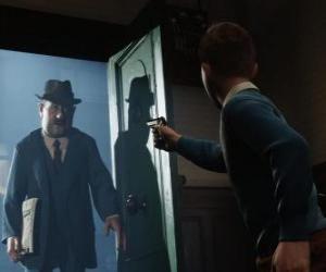 Tintin confronts Allan puzzle