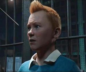 Tintin, Herge's famous character. puzzle