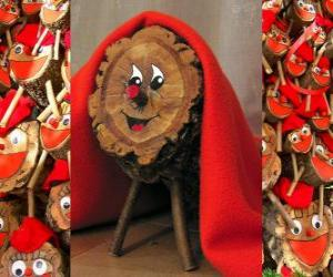 Tió de Nadal (Christmas log), a Catalan, Occitan and the Alto Aragon tradition puzzle