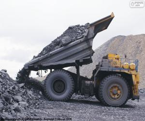 Tipper, unloading the cargo puzzle