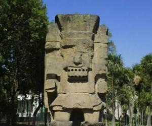 Tlatoc, the god of rain and fertility, is rooted in the culture of Teootihuacan puzzle