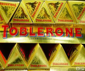 Toblerone logo puzzle