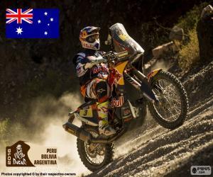 Toby Price, Dakar 2016 puzzle