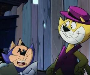 Top Cat and Benny the Ball puzzle