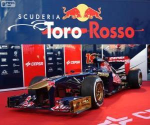 Toro Rosso STR8 - 2013 - puzzle