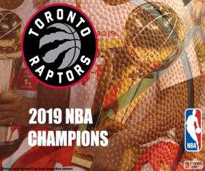 Toronto Raptors, 2019 NBA champions puzzle