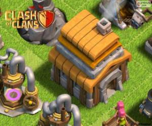 Town Hall 5, Clash of Clans puzzle