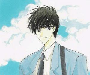Toya Kinomoto is Sakura's older brother puzzle