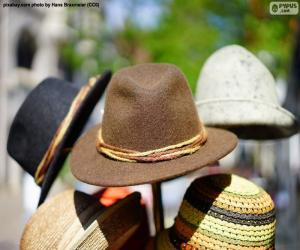 Traditional German hats puzzle