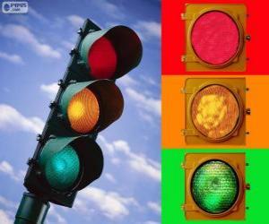 Traffic light puzzle