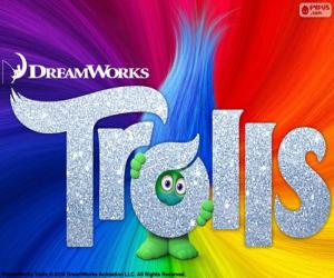 Trolls movie poster puzzle