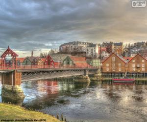 Trondheim, Norway puzzle