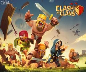 Troops, Clash of Clans puzzle