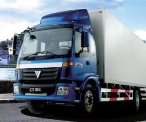 Truck Foton puzzle
