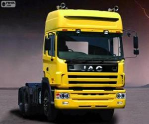 Truck Jac Runner puzzle