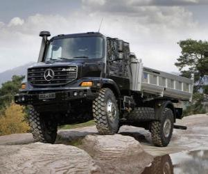 Truck Mercedes Benz Zetros puzzle