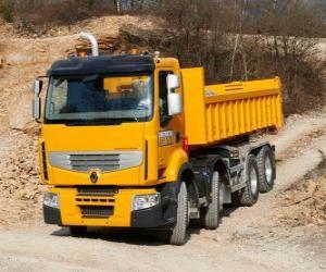 Truck Renault Premium Lander puzzle