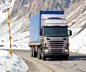 Truck Scania R 470 puzzle