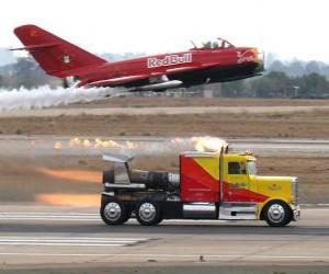Truck vs plane puzzle