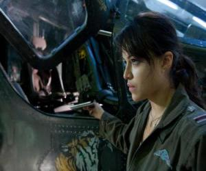 Trudy Chacon, a Marine Corps pilot who becomes a renegade. puzzle